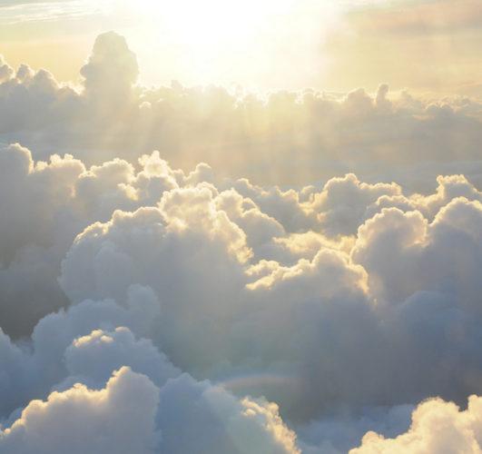 空・太陽・雲