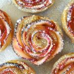 Rose Shaped Baked Apple Dessert