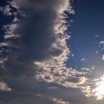 連合艦隊のような雲