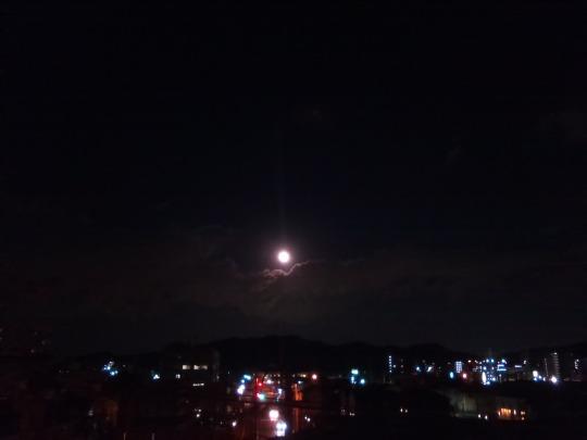 特別な月食の日