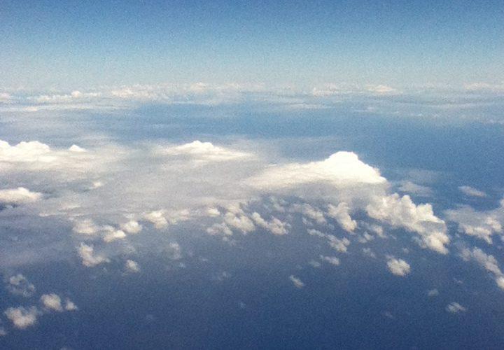 光と雲と空